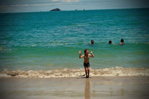 Olivier à la playa Manuel Antonio Beach