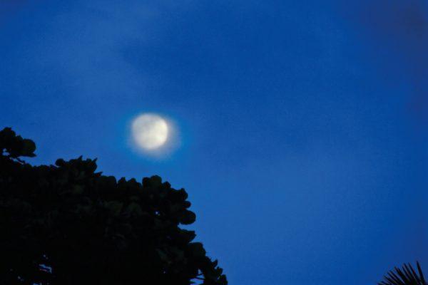 Même la lune était au rendez-vous