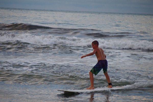 Une des mes premières vagues